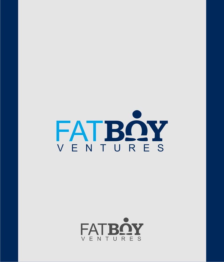 Logo Design by graphicleaf - Entry No. 98 in the Logo Design Contest Fun Logo Design for Fat Boy Ventures.