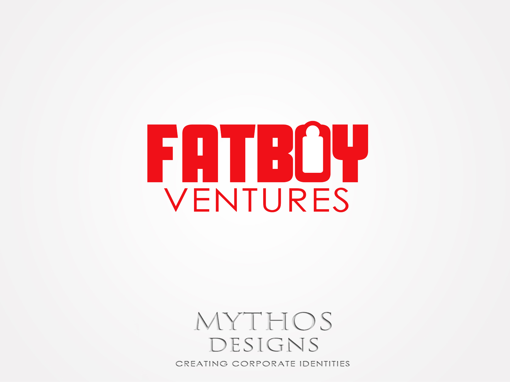 Logo Design by Mythos Designs - Entry No. 100 in the Logo Design Contest Fun Logo Design for Fat Boy Ventures.