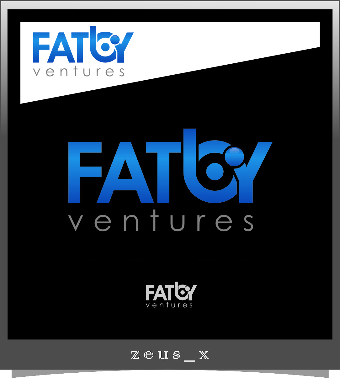 Logo Design by RasYa Muhammad Athaya - Entry No. 101 in the Logo Design Contest Fun Logo Design for Fat Boy Ventures.