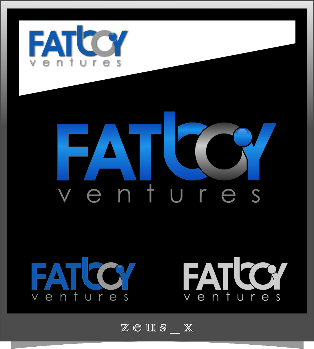 Logo Design by Ngepet_art - Entry No. 103 in the Logo Design Contest Fun Logo Design for Fat Boy Ventures.