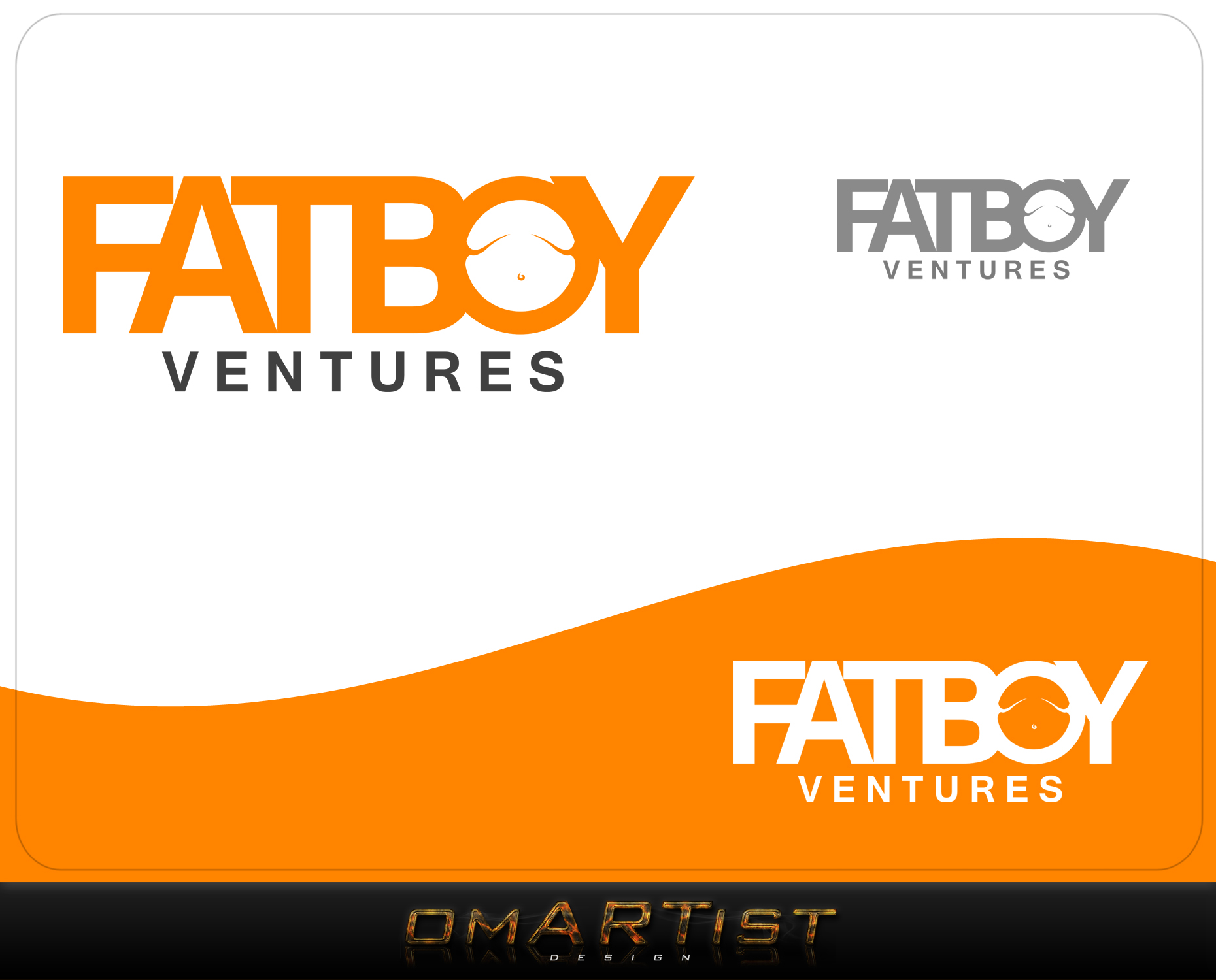 Logo Design by omARTist - Entry No. 105 in the Logo Design Contest Fun Logo Design for Fat Boy Ventures.