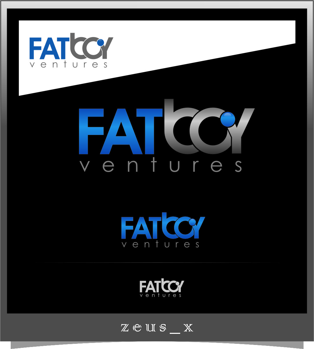 Logo Design by RoSyid Rono-Rene On Java - Entry No. 107 in the Logo Design Contest Fun Logo Design for Fat Boy Ventures.