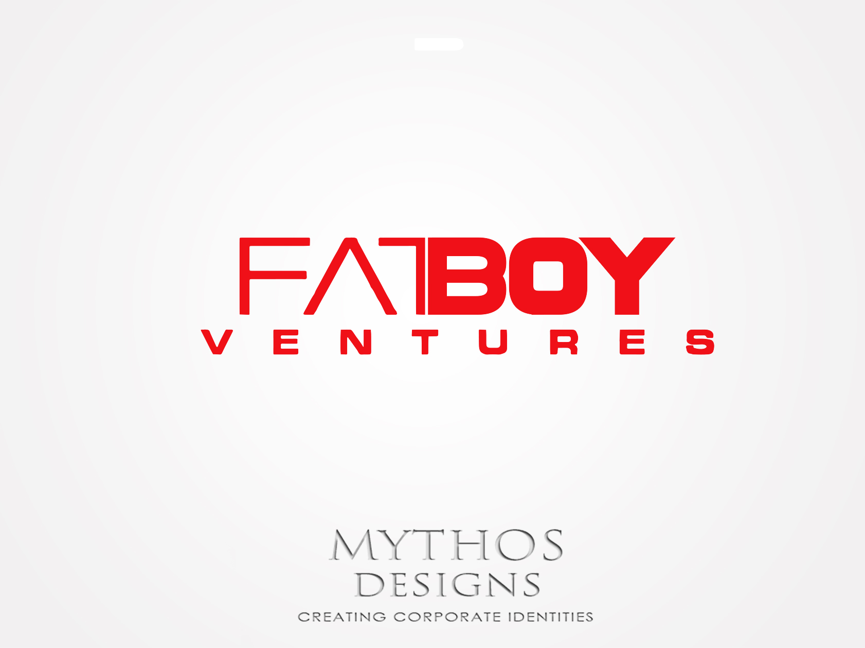 Logo Design by Mythos Designs - Entry No. 108 in the Logo Design Contest Fun Logo Design for Fat Boy Ventures.
