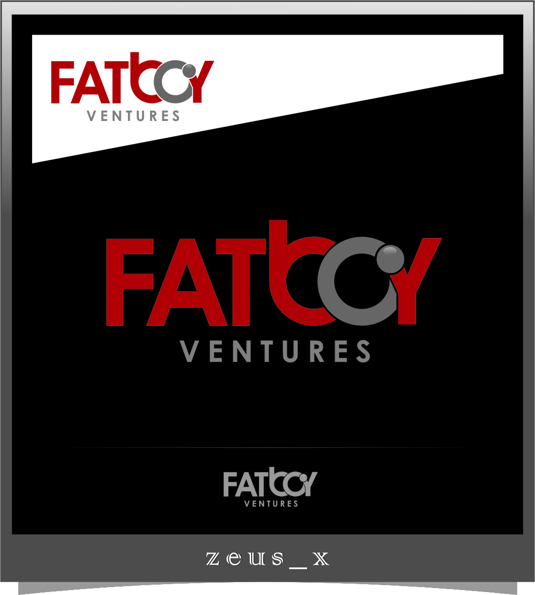 Logo Design by RasYa Muhammad Athaya - Entry No. 109 in the Logo Design Contest Fun Logo Design for Fat Boy Ventures.