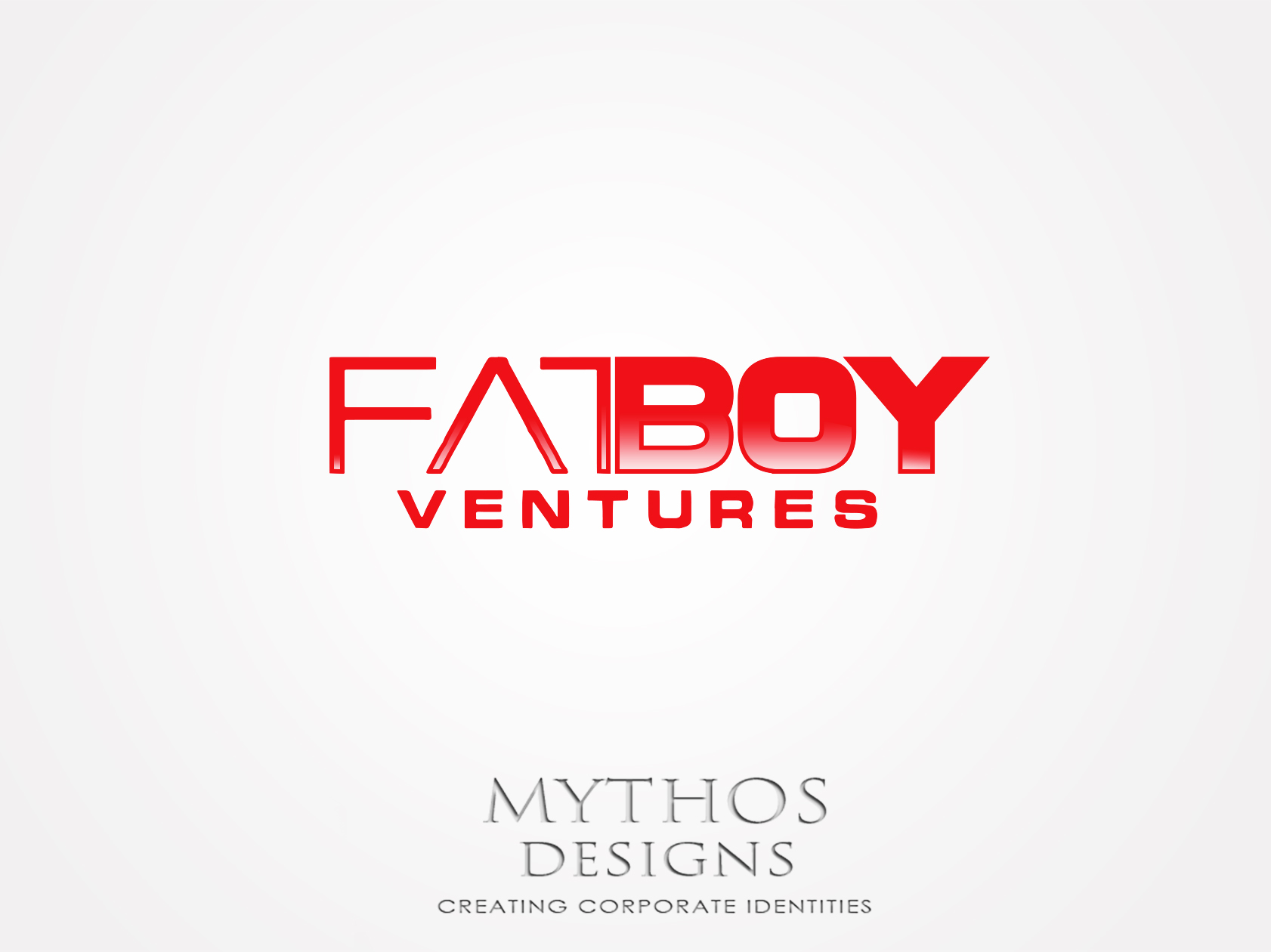 Logo Design by Mythos Designs - Entry No. 113 in the Logo Design Contest Fun Logo Design for Fat Boy Ventures.