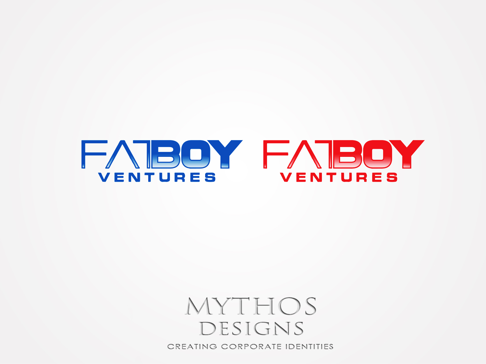 Logo Design by Mythos Designs - Entry No. 116 in the Logo Design Contest Fun Logo Design for Fat Boy Ventures.