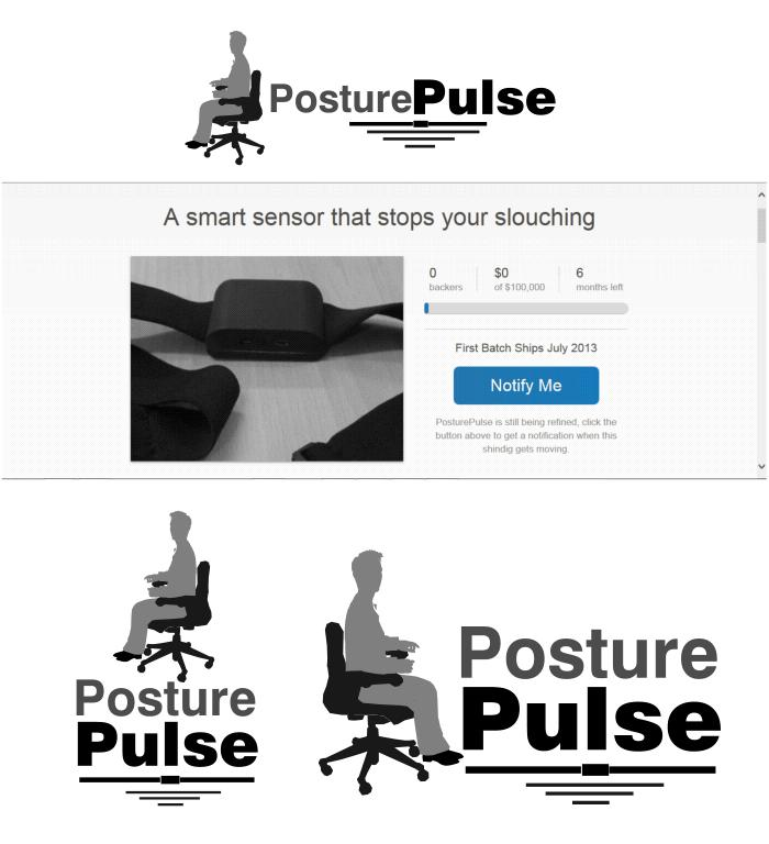 Logo Design by Private User - Entry No. 94 in the Logo Design Contest Unique Logo Design Wanted for PosturePulse.