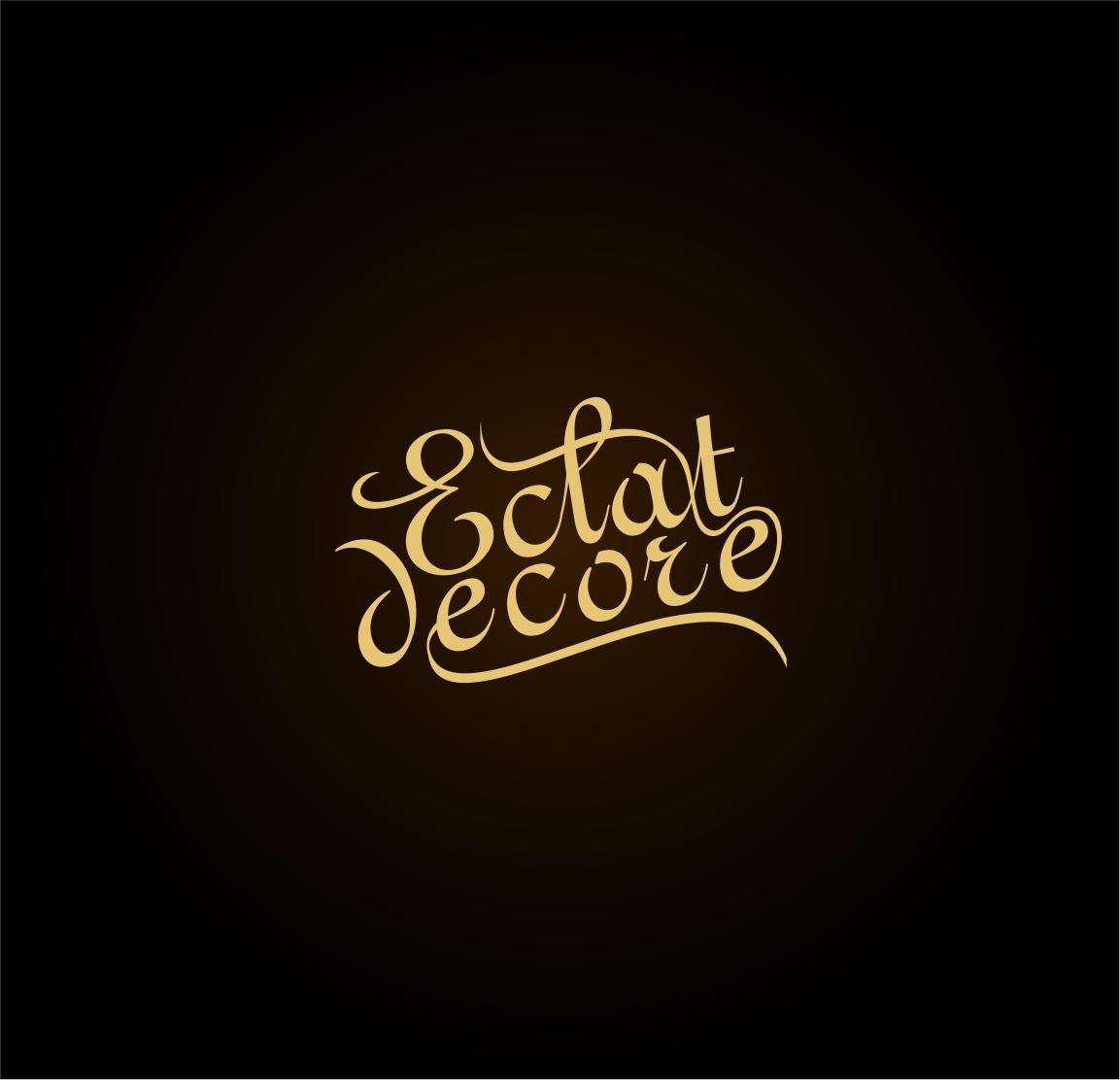 Logo Design by haidu - Entry No. 68 in the Logo Design Contest Imaginative Logo Design for Éclat Decor.