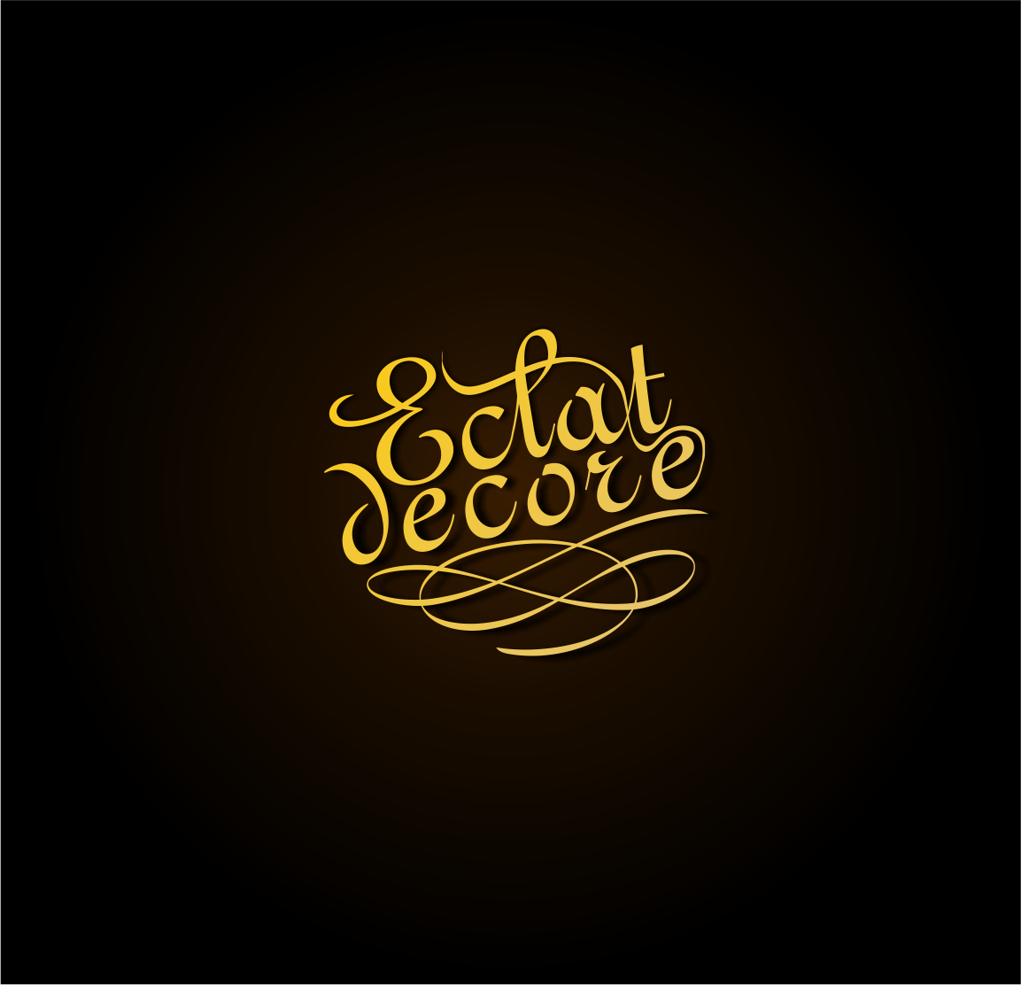 Logo Design by haidu - Entry No. 69 in the Logo Design Contest Imaginative Logo Design for Éclat Decor.