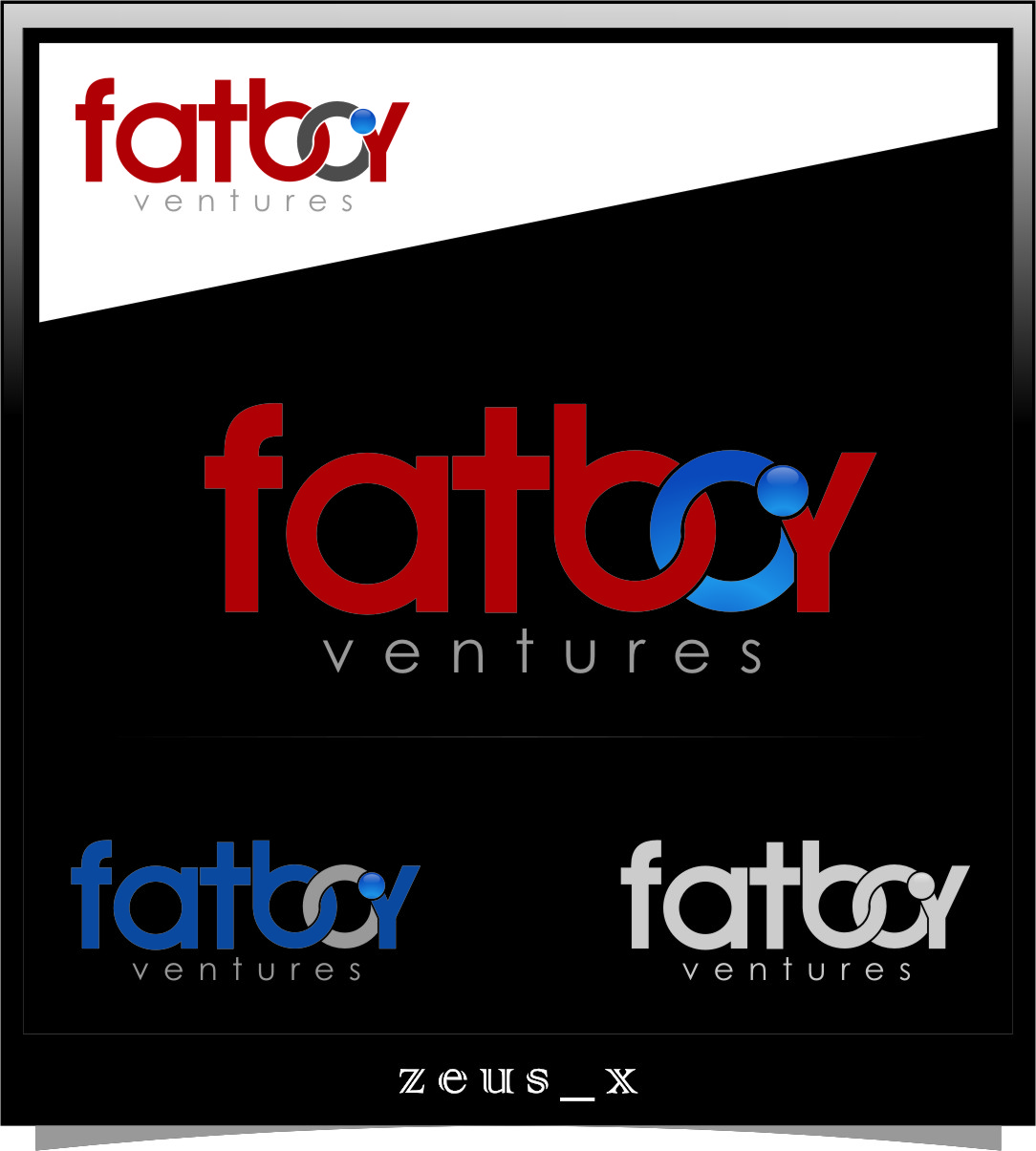 Logo Design by RasYa Muhammad Athaya - Entry No. 118 in the Logo Design Contest Fun Logo Design for Fat Boy Ventures.