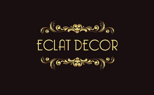 Logo Design by Private User - Entry No. 72 in the Logo Design Contest Imaginative Logo Design for Éclat Decor.