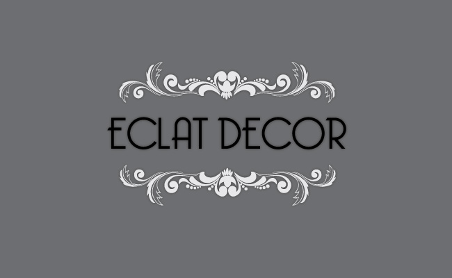 Logo Design by Private User - Entry No. 73 in the Logo Design Contest Imaginative Logo Design for Éclat Decor.