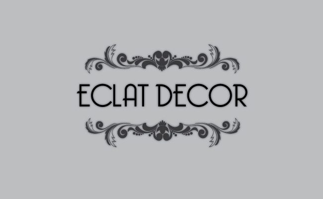 Logo Design by Private User - Entry No. 74 in the Logo Design Contest Imaginative Logo Design for Éclat Decor.