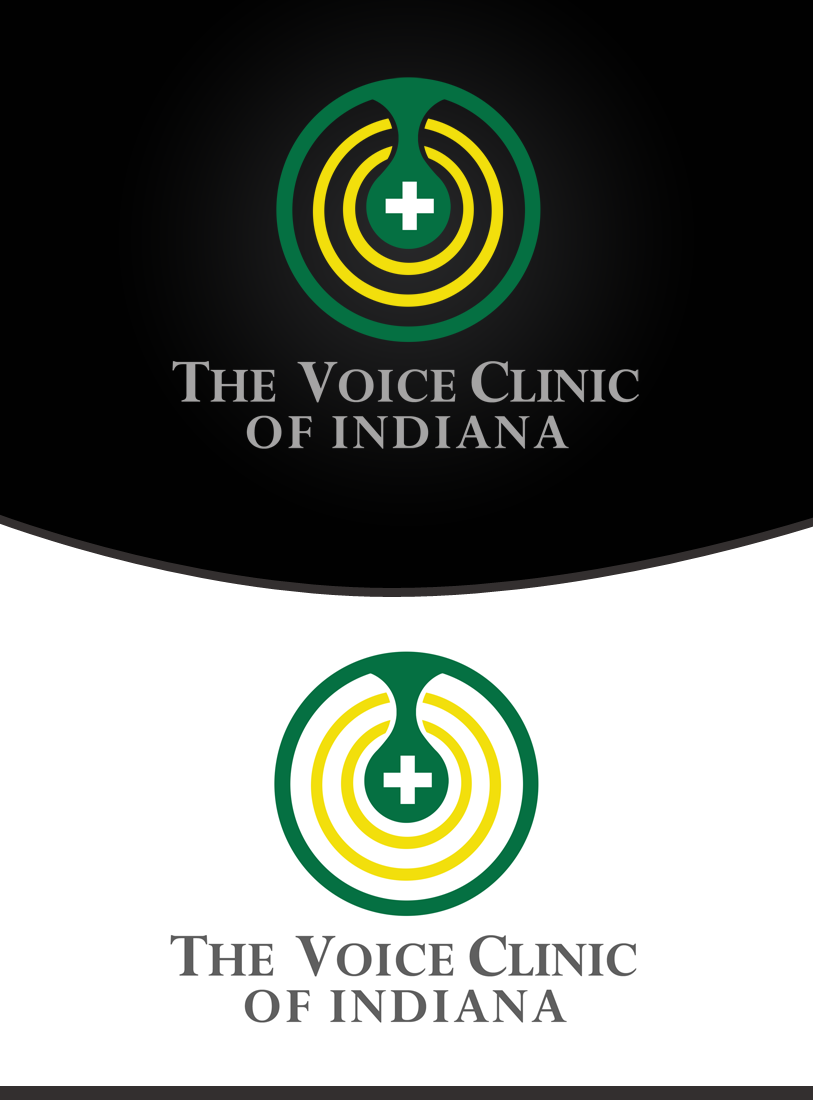 Logo Design by Private User - Entry No. 50 in the Logo Design Contest Logo Design for The Voice Clinic of Indiana.