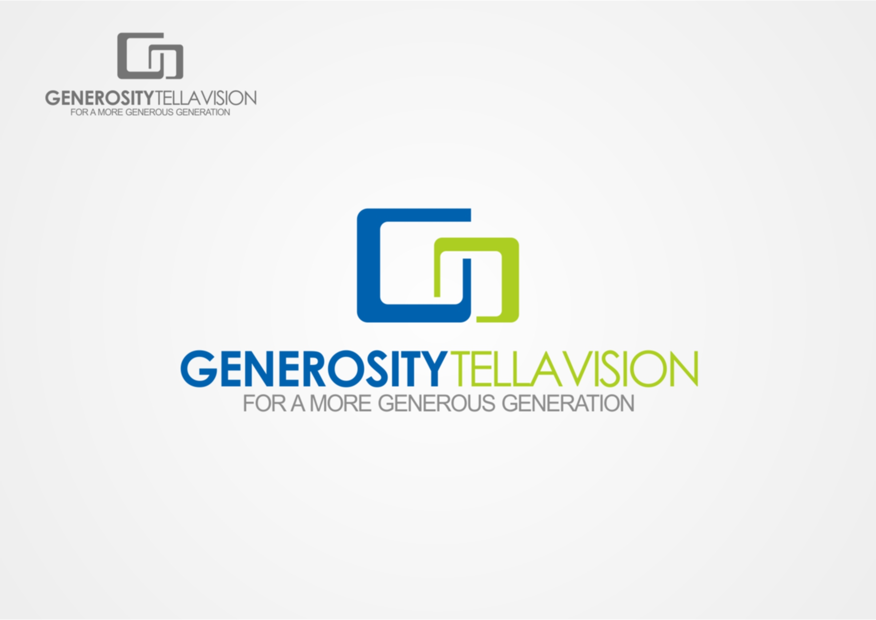 Logo Design by Private User - Entry No. 6 in the Logo Design Contest Artistic Logo Design for Generosity TellAVision.