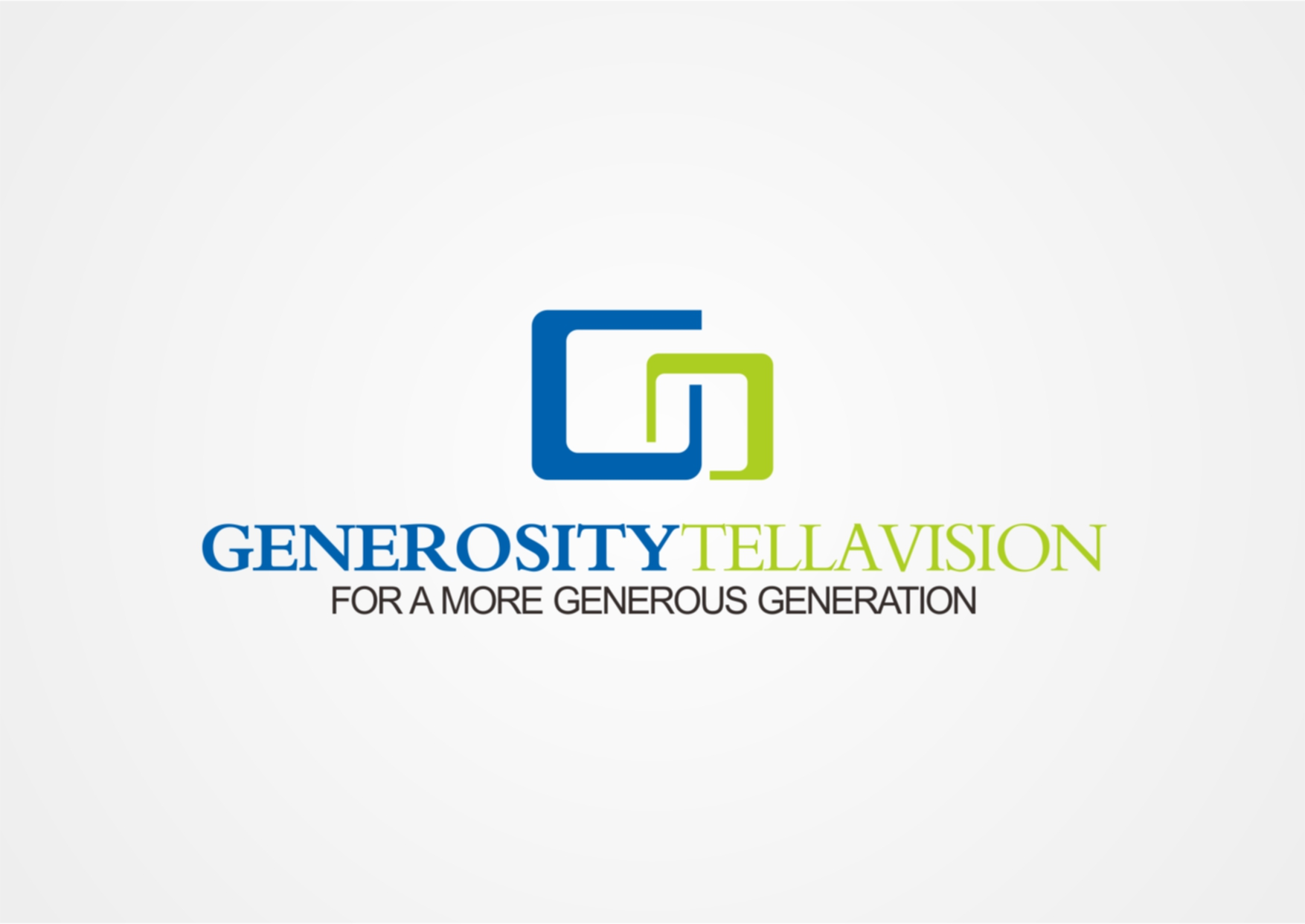 Logo Design by Private User - Entry No. 7 in the Logo Design Contest Artistic Logo Design for Generosity TellAVision.