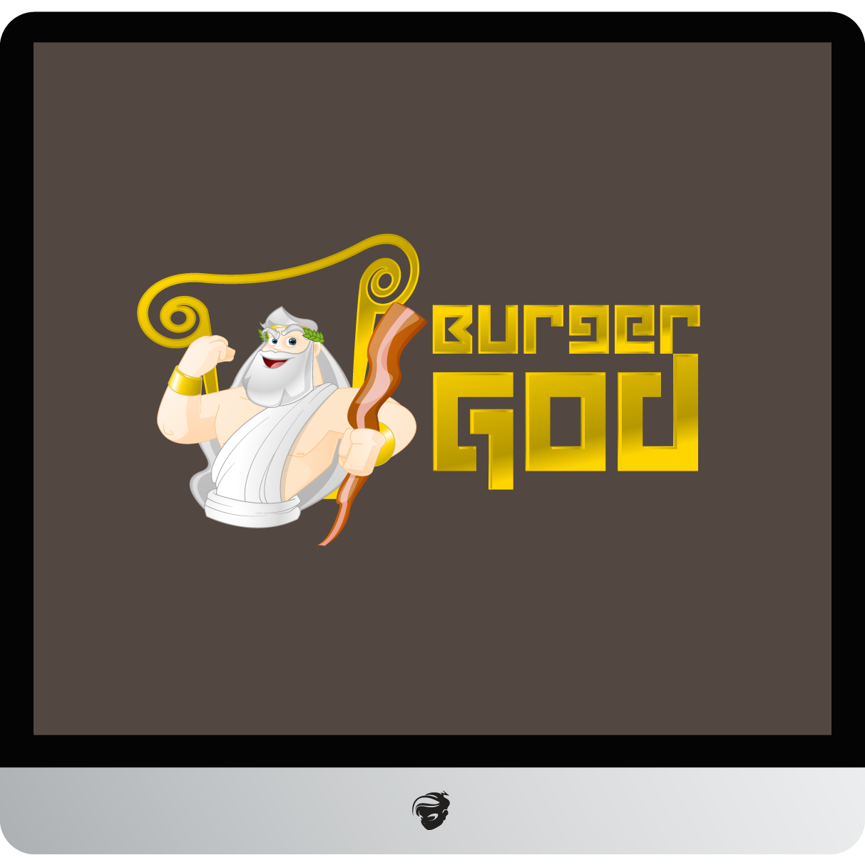 Logo Design by zesthar - Entry No. 6 in the Logo Design Contest Inspiring Logo Design for Burger Gods.