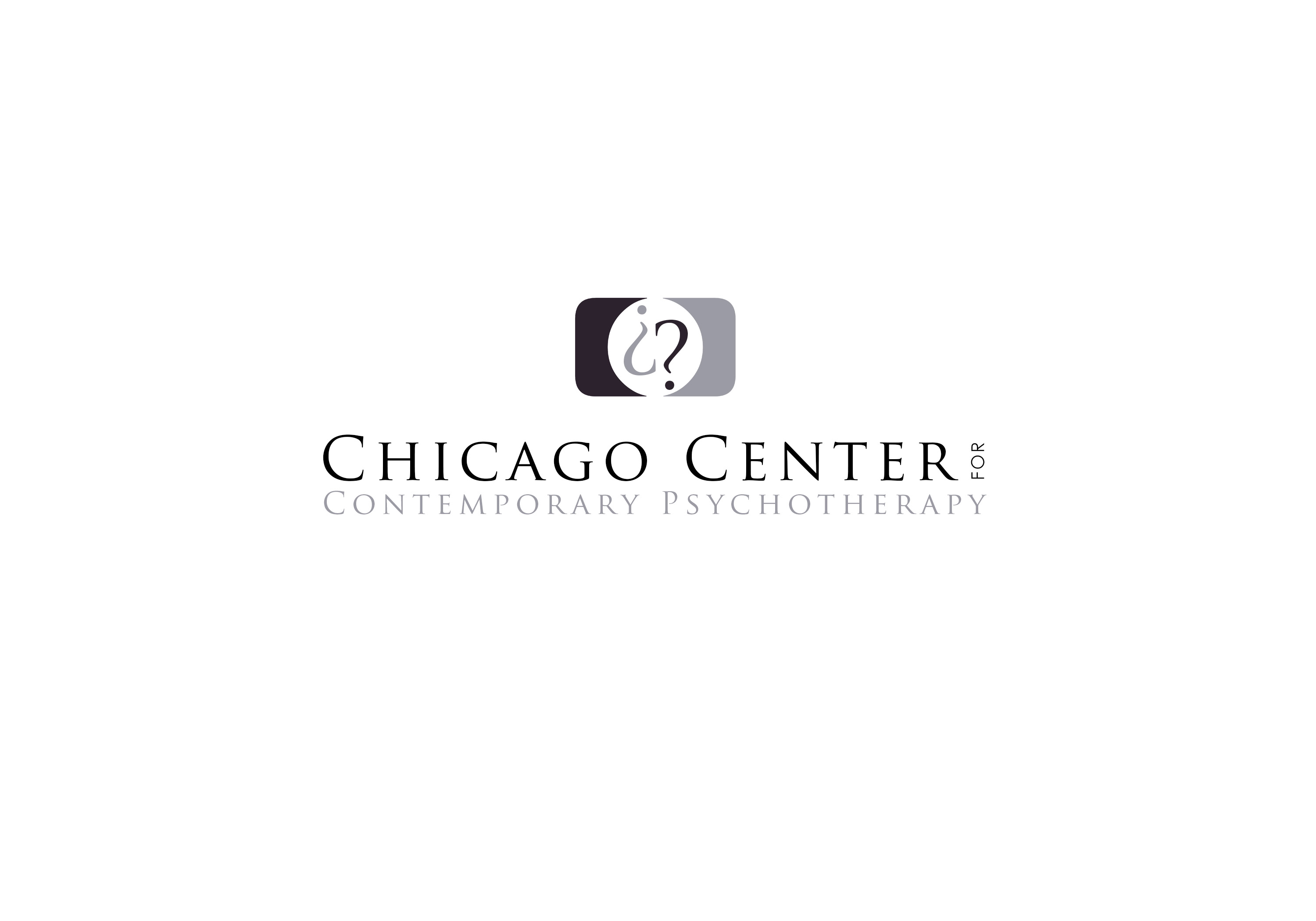 Logo Design by Colors Hub - Entry No. 20 in the Logo Design Contest Inspiring Logo Design for Chicago Center for Contemporary Psychotherapy.