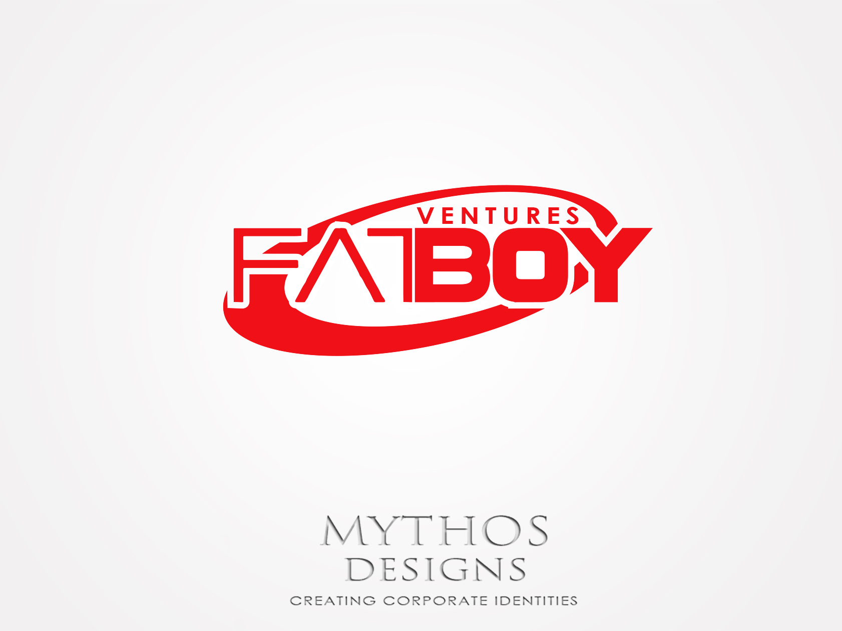 Logo Design by Mythos Designs - Entry No. 126 in the Logo Design Contest Fun Logo Design for Fat Boy Ventures.