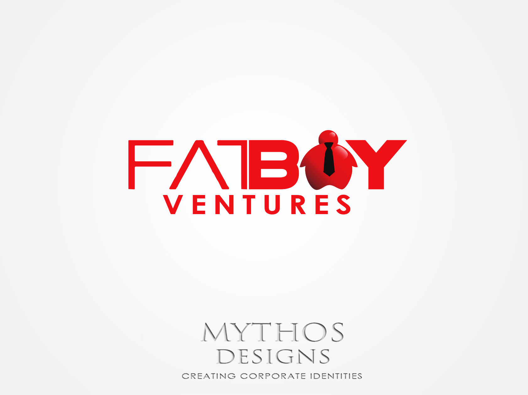 Logo Design by Mythos Designs - Entry No. 127 in the Logo Design Contest Fun Logo Design for Fat Boy Ventures.