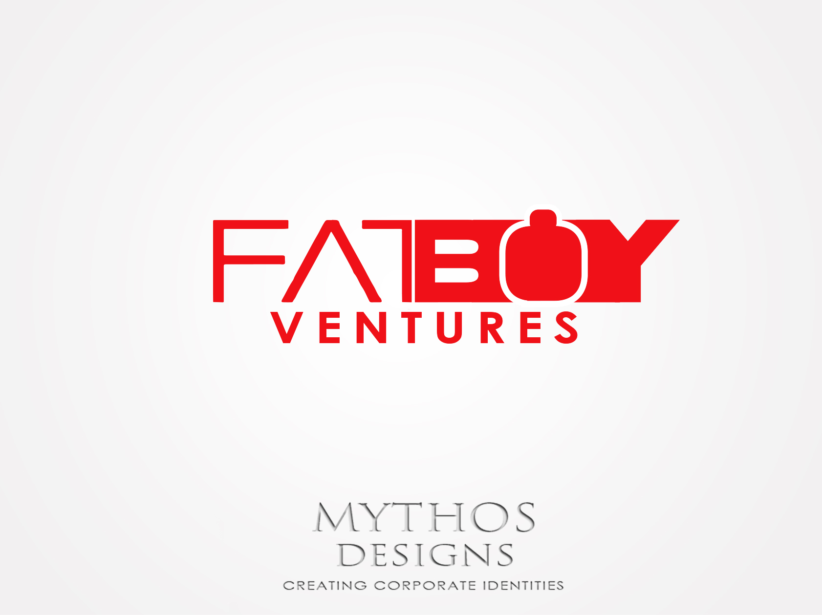 Logo Design by Mythos Designs - Entry No. 128 in the Logo Design Contest Fun Logo Design for Fat Boy Ventures.