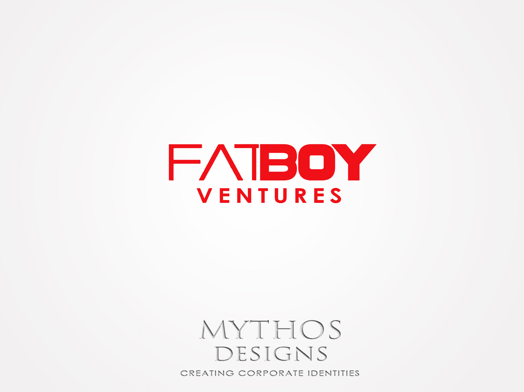 Logo Design by Mythos Designs - Entry No. 130 in the Logo Design Contest Fun Logo Design for Fat Boy Ventures.
