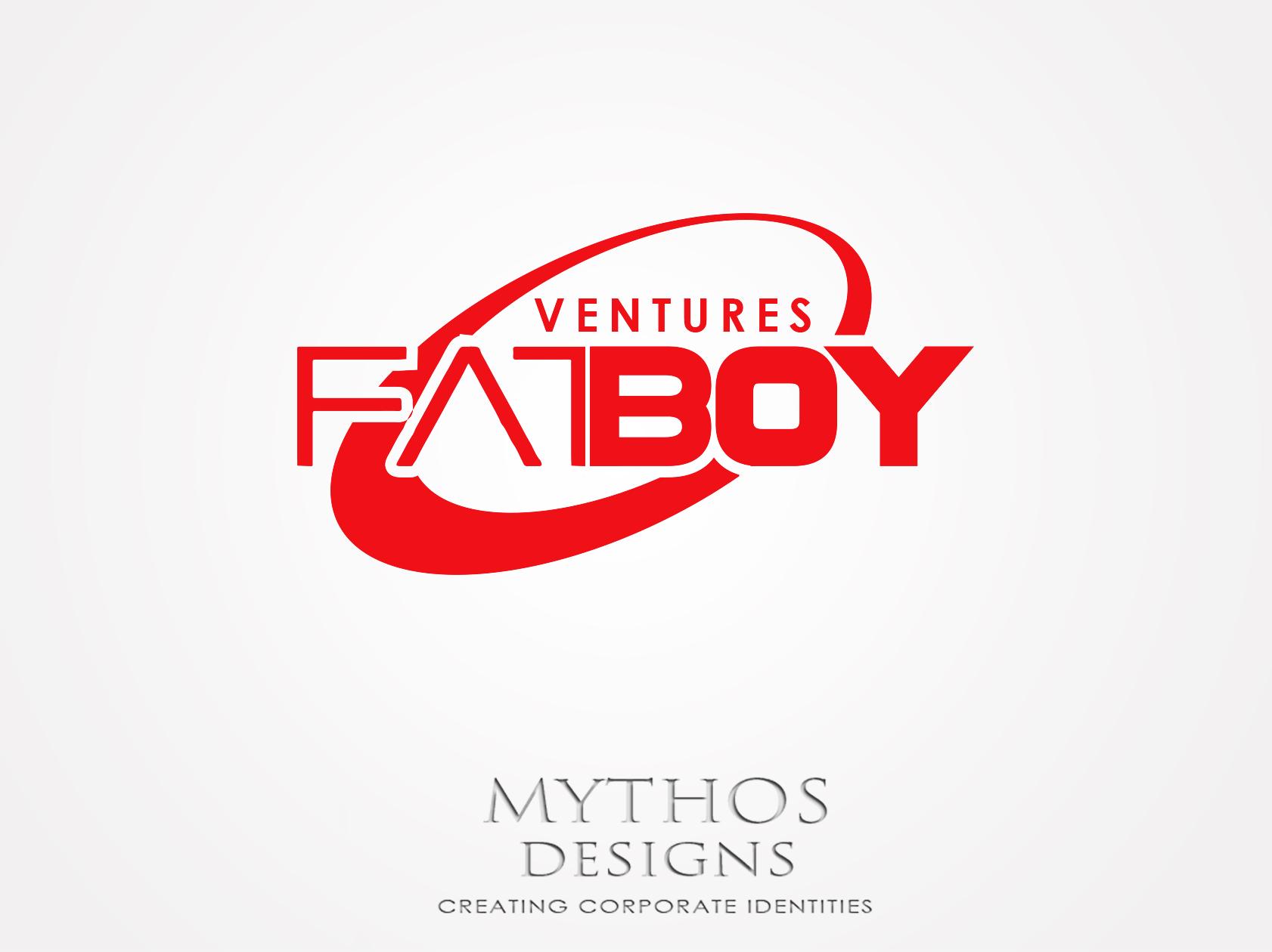 Logo Design by Mythos Designs - Entry No. 132 in the Logo Design Contest Fun Logo Design for Fat Boy Ventures.