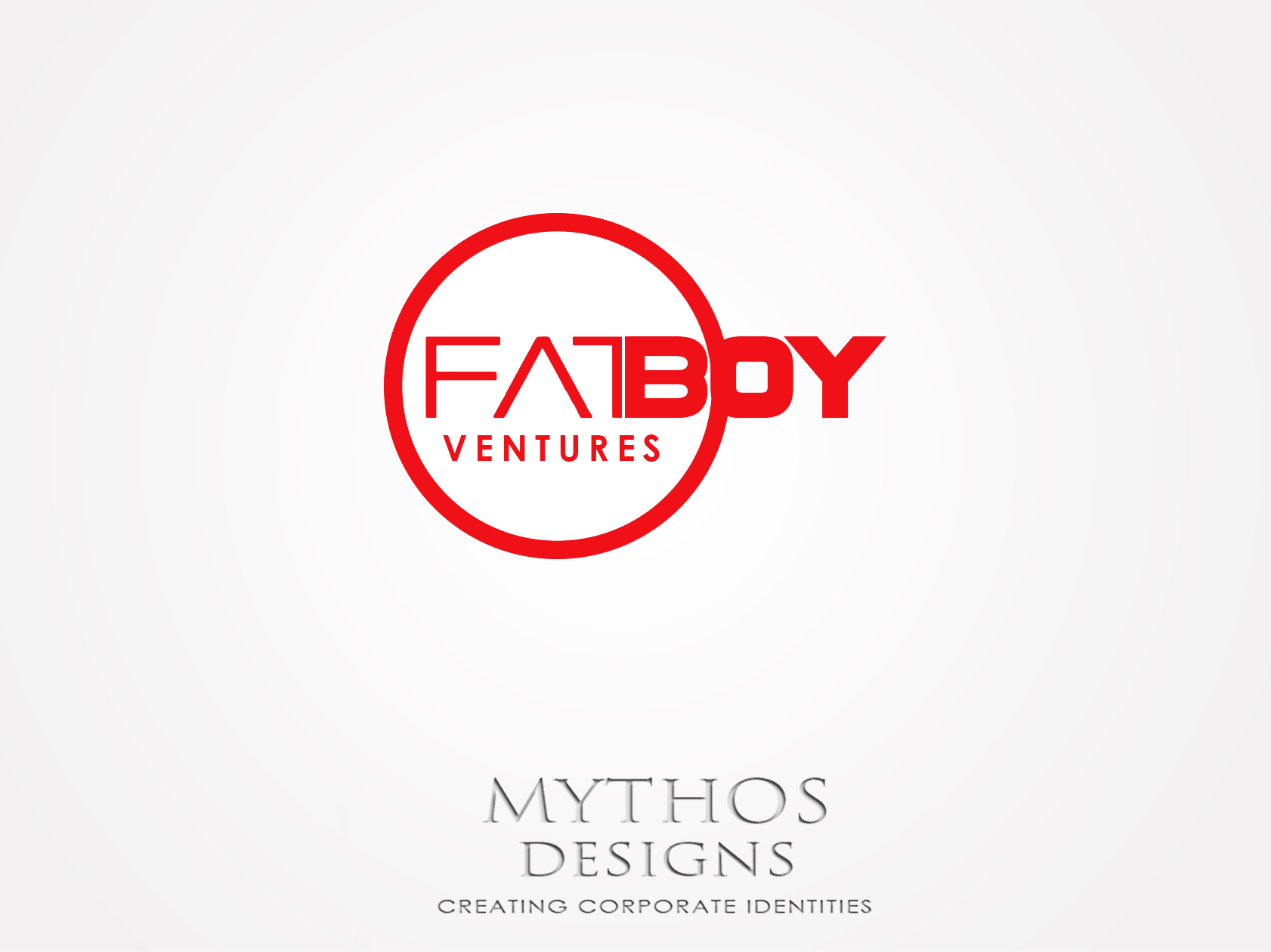 Logo Design by Mythos Designs - Entry No. 133 in the Logo Design Contest Fun Logo Design for Fat Boy Ventures.