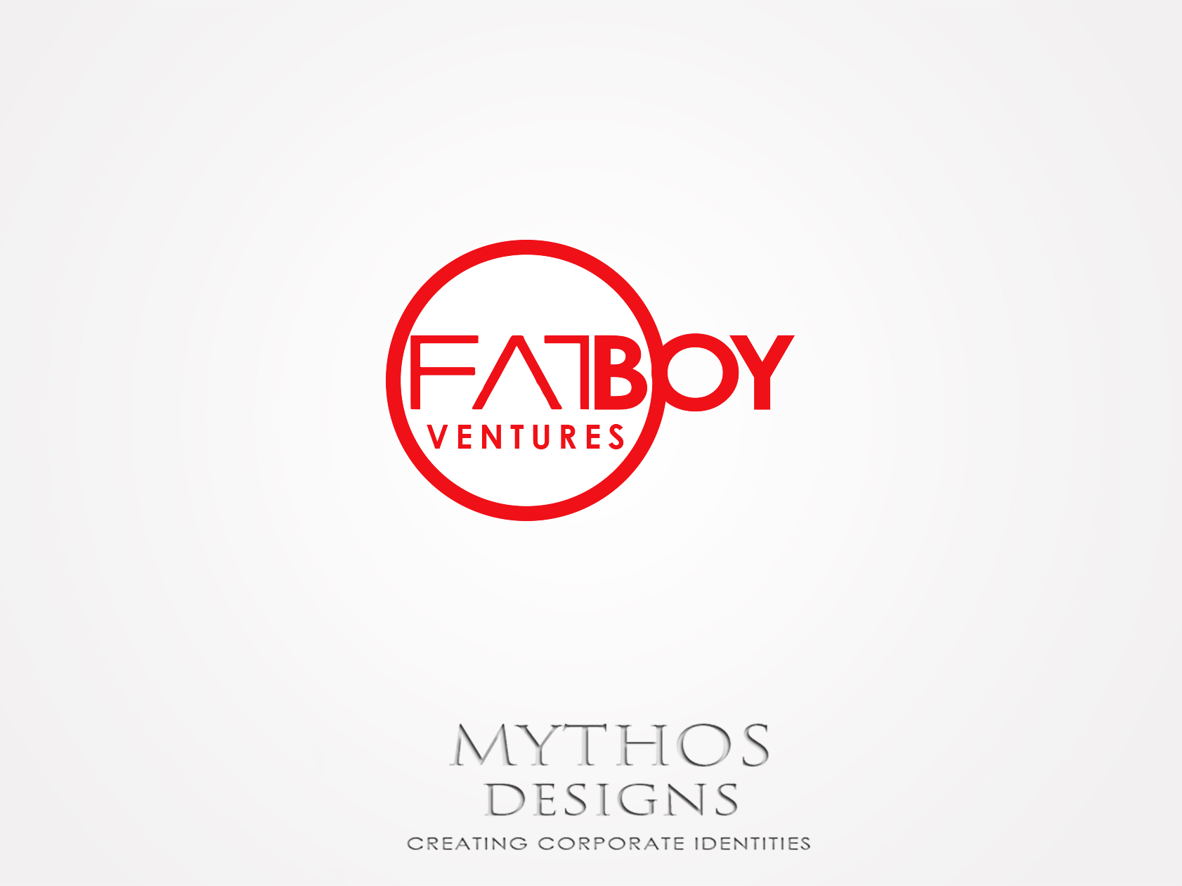 Logo Design by Mythos Designs - Entry No. 134 in the Logo Design Contest Fun Logo Design for Fat Boy Ventures.