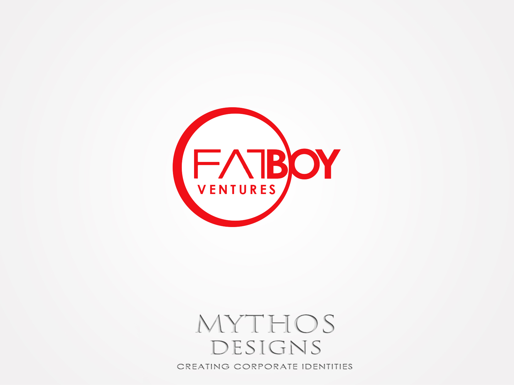 Logo Design by Mythos Designs - Entry No. 135 in the Logo Design Contest Fun Logo Design for Fat Boy Ventures.
