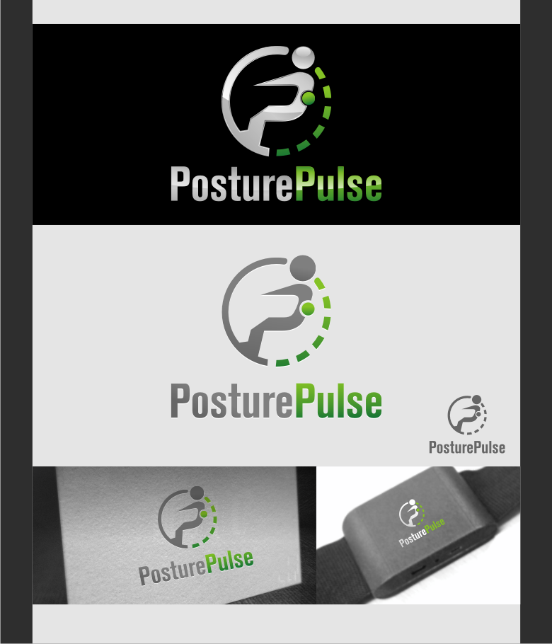 Logo Design by graphicleaf - Entry No. 99 in the Logo Design Contest Unique Logo Design Wanted for PosturePulse.