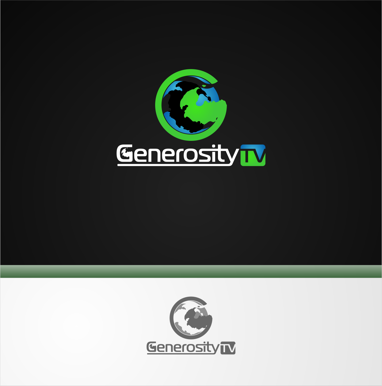 Logo Design by Private User - Entry No. 9 in the Logo Design Contest Artistic Logo Design for Generosity TellAVision.