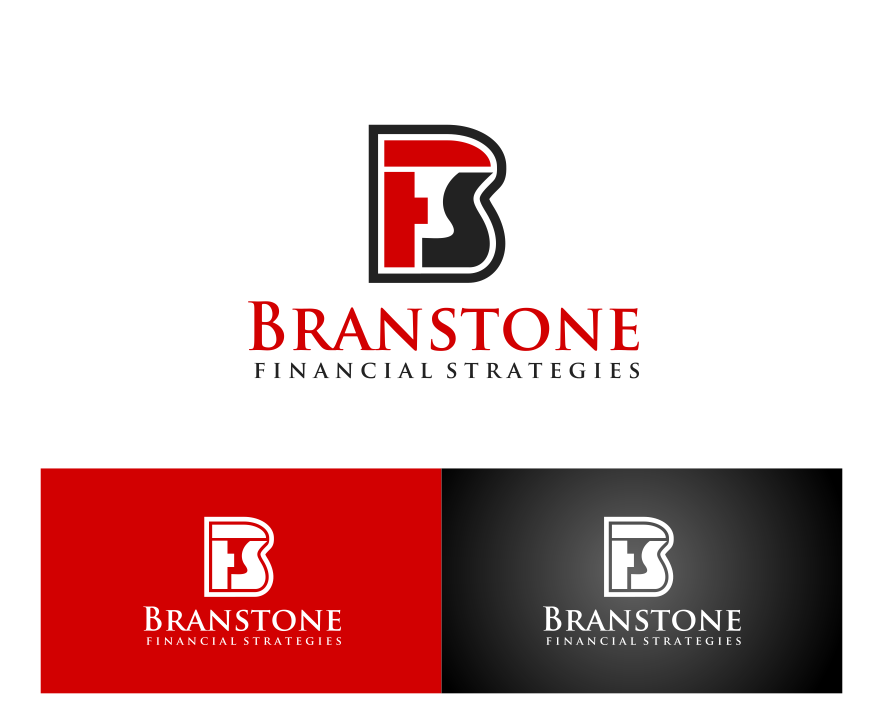 Logo Design by ningnung - Entry No. 298 in the Logo Design Contest Inspiring Logo Design for Branstone Financial Strategies.