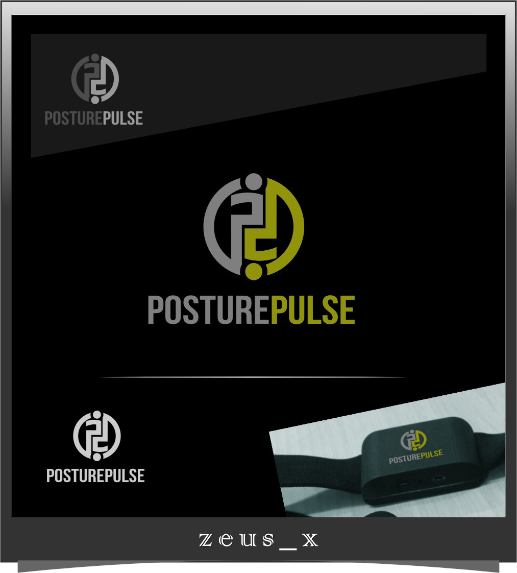 Logo Design by Ngepet_art - Entry No. 112 in the Logo Design Contest Unique Logo Design Wanted for PosturePulse.