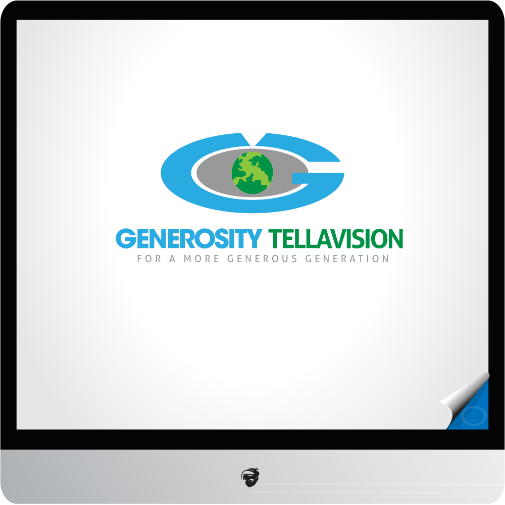 Logo Design by zesthar - Entry No. 10 in the Logo Design Contest Artistic Logo Design for Generosity TellAVision.