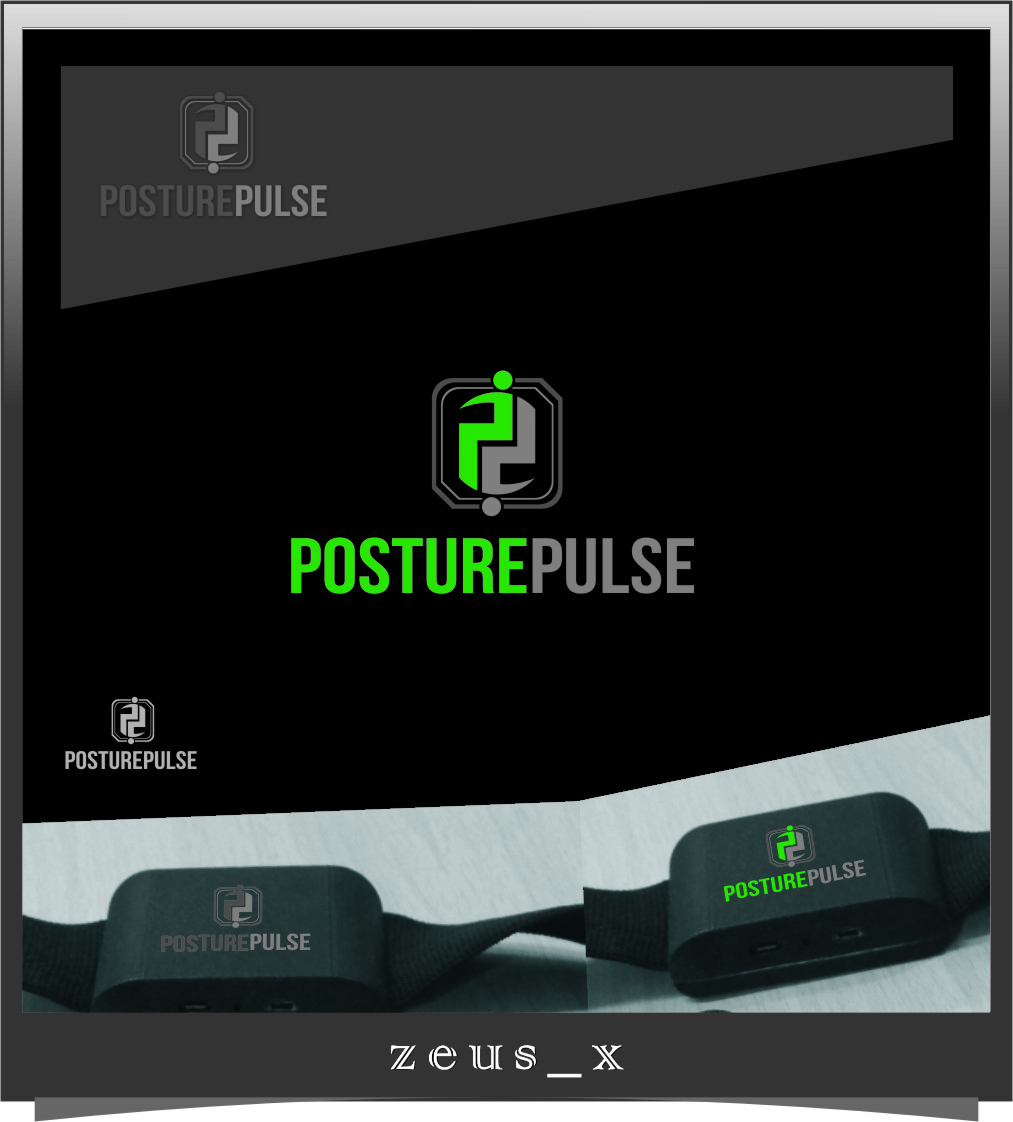 Logo Design by RasYa Muhammad Athaya - Entry No. 116 in the Logo Design Contest Unique Logo Design Wanted for PosturePulse.