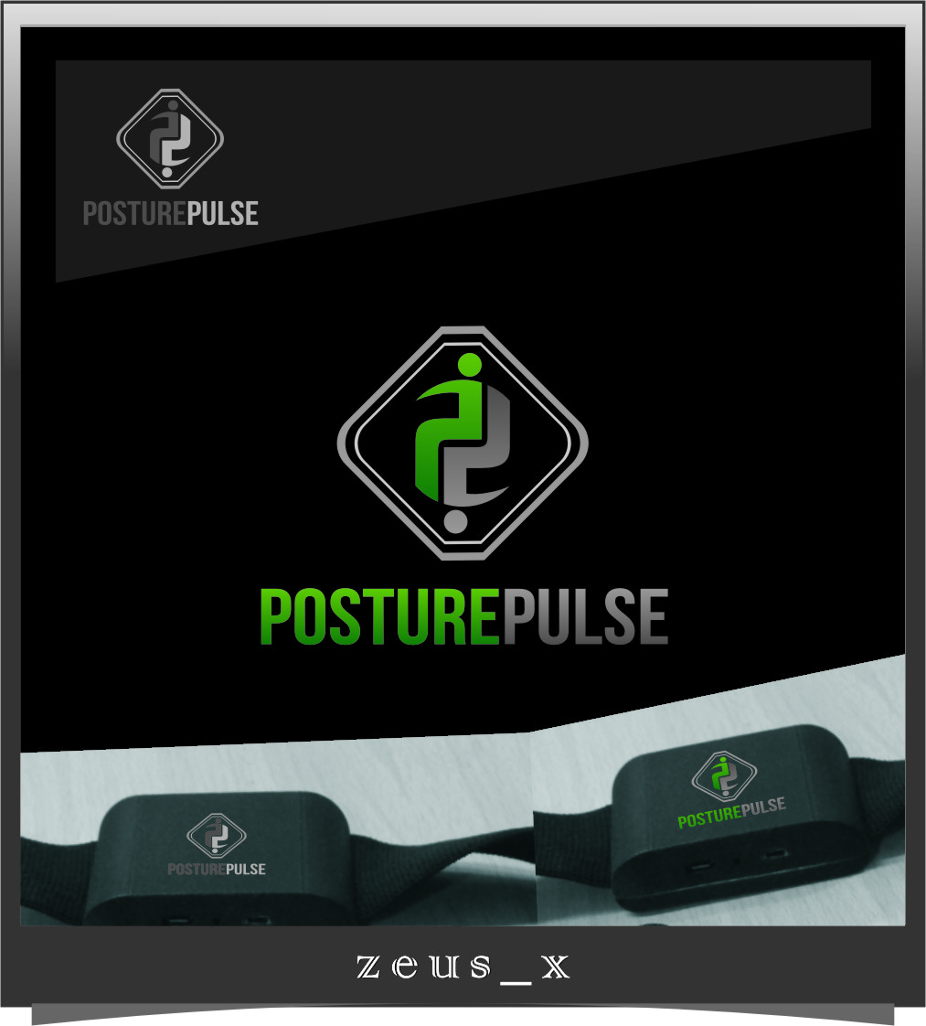Logo Design by RasYa Muhammad Athaya - Entry No. 118 in the Logo Design Contest Unique Logo Design Wanted for PosturePulse.