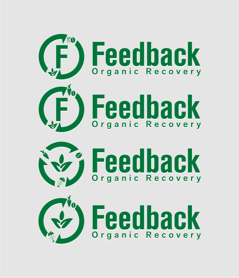 Logo Design by Muhammad Nasrul chasib - Entry No. 41 in the Logo Design Contest Feedback Organic Recovery  Logo Design.