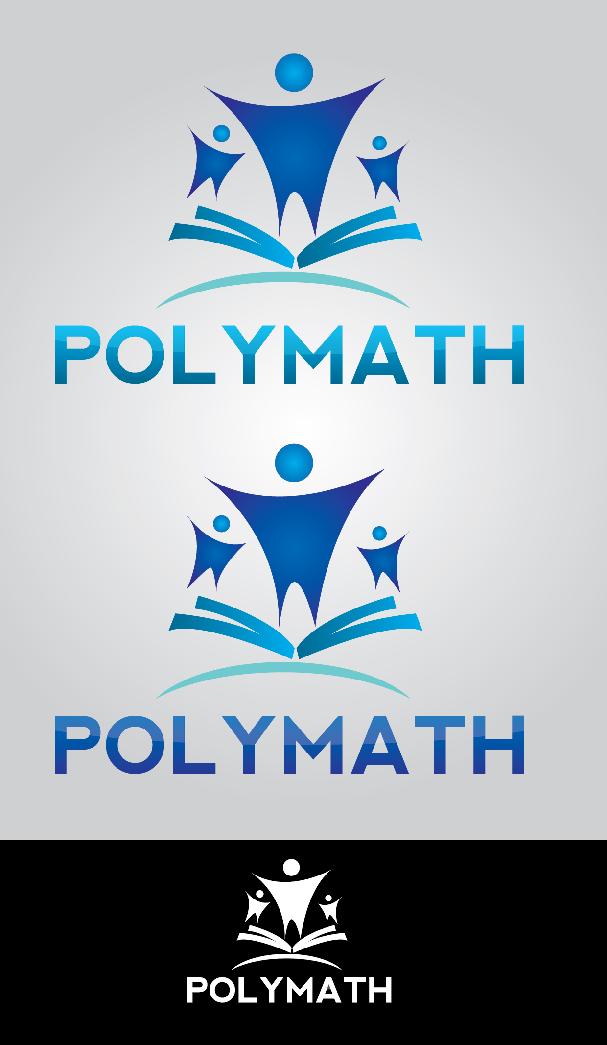 Logo Design by mediaproductionart - Entry No. 8 in the Logo Design Contest Imaginative Logo Design for Polymath.