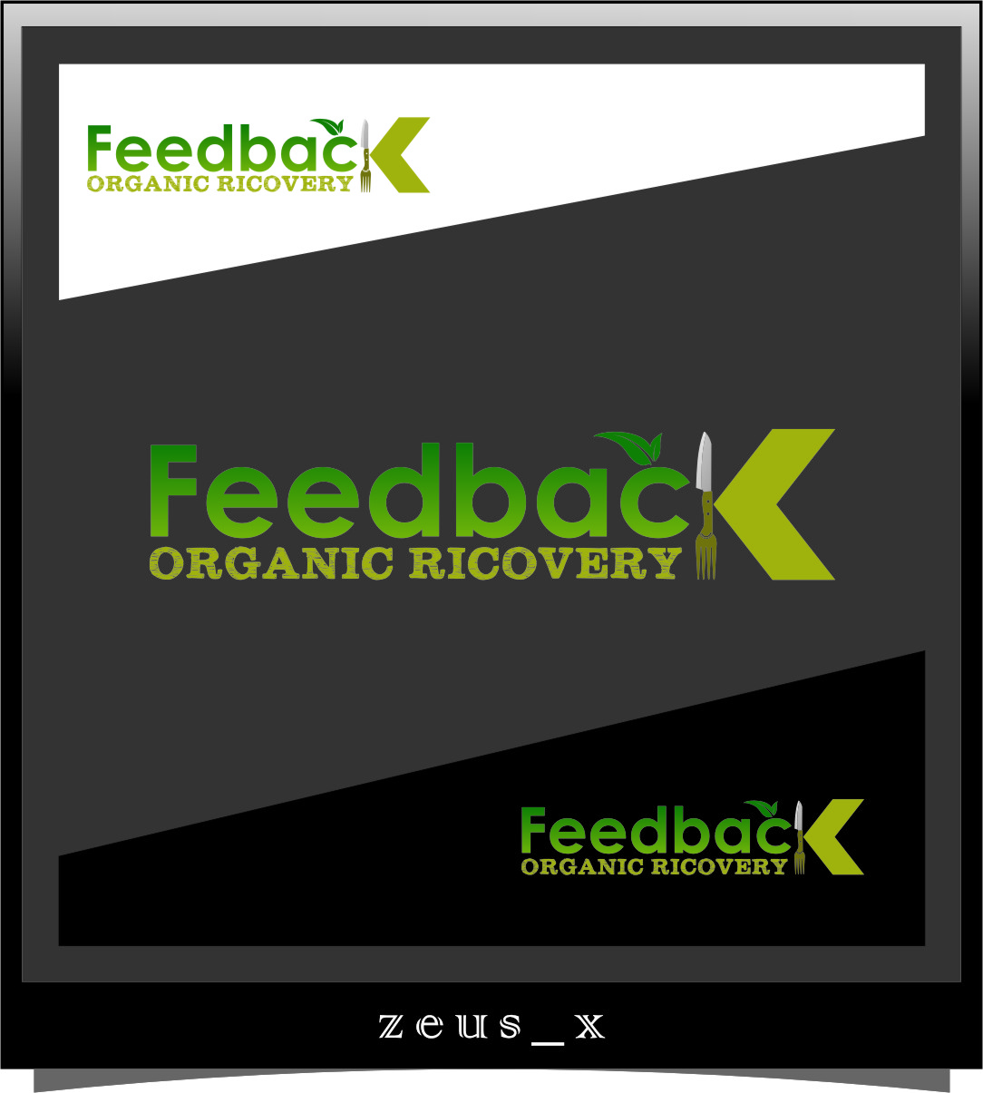 Logo Design by Ngepet_art - Entry No. 54 in the Logo Design Contest Feedback Organic Recovery  Logo Design.