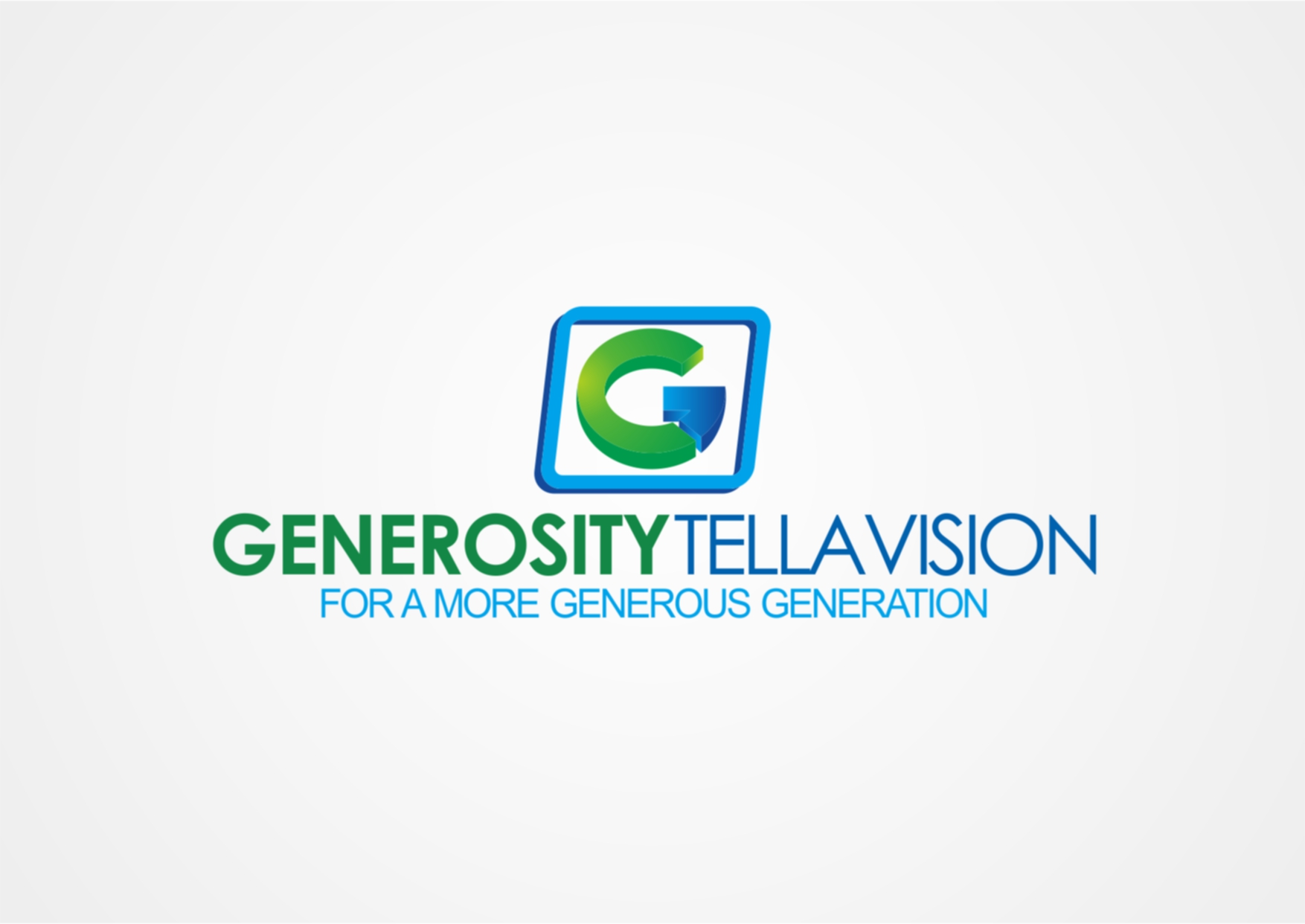 Logo Design by Private User - Entry No. 14 in the Logo Design Contest Artistic Logo Design for Generosity TellAVision.