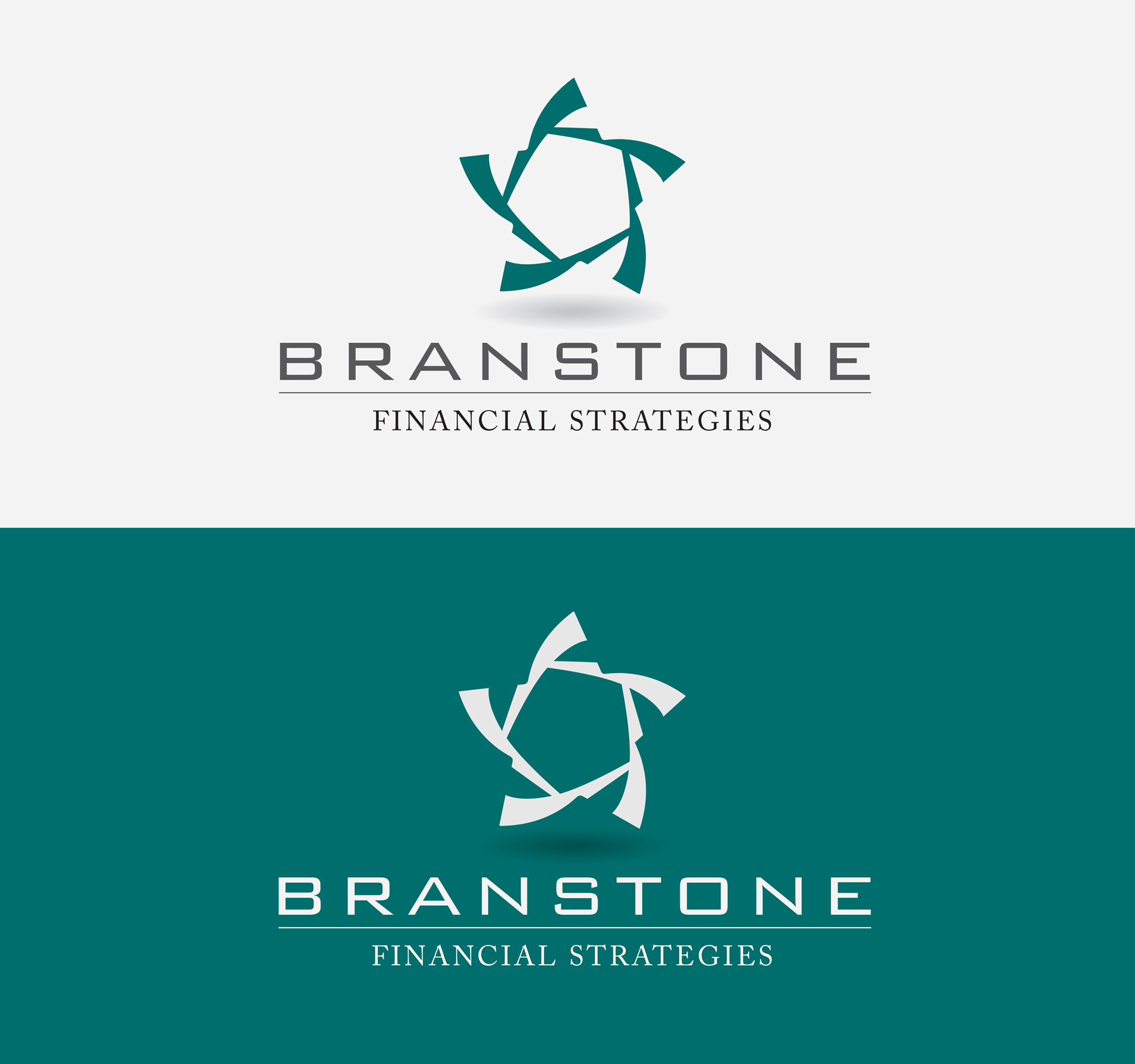 Logo Design by André Provedel Silva - Entry No. 313 in the Logo Design Contest Inspiring Logo Design for Branstone Financial Strategies.