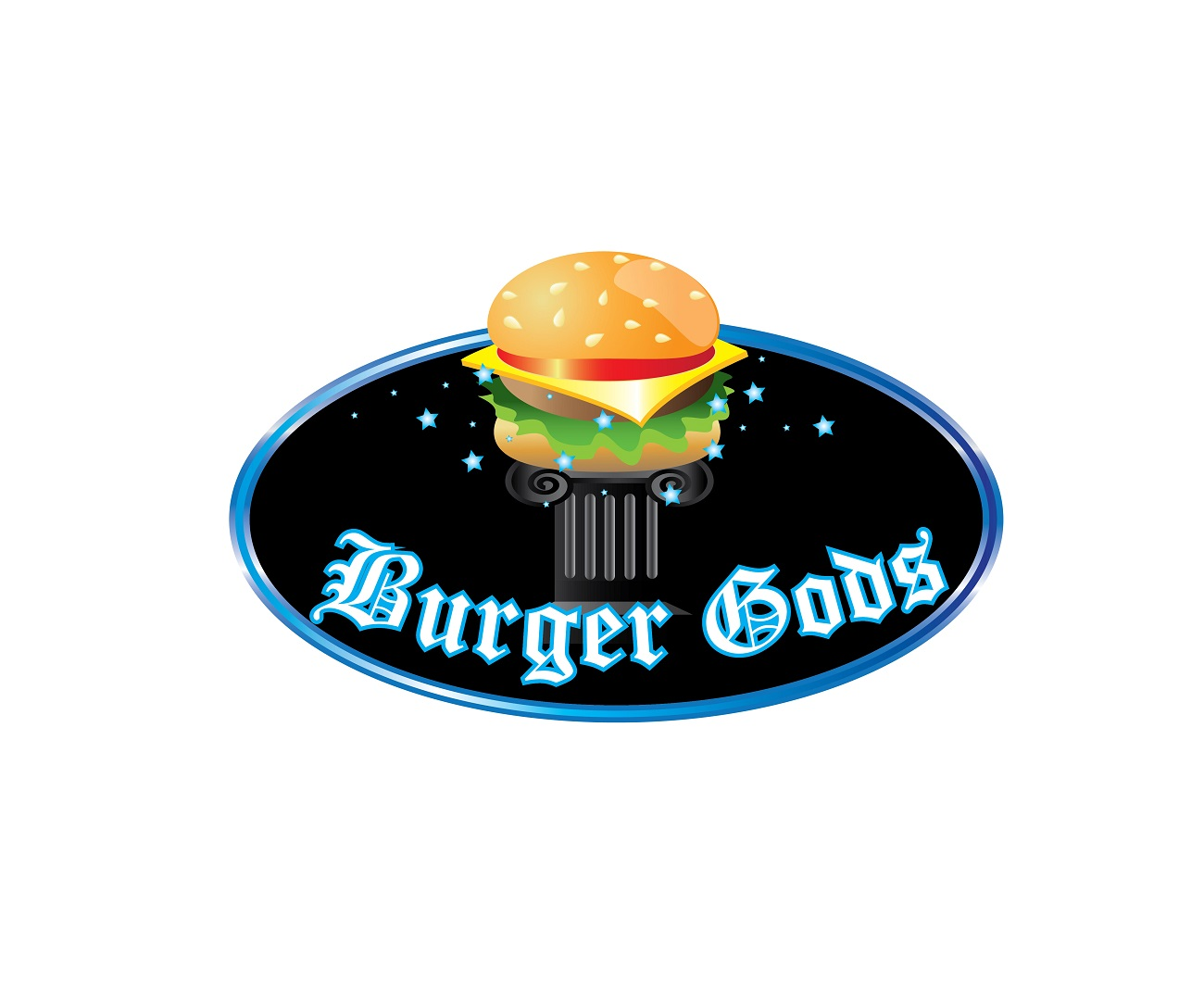 Logo Design by jhunzkie24 - Entry No. 8 in the Logo Design Contest Inspiring Logo Design for Burger Gods.