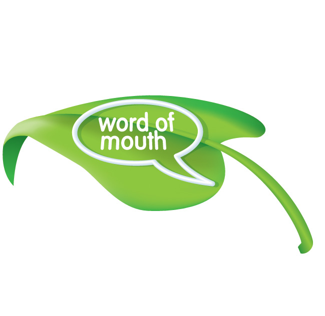 Logo Design by Klick - Entry No. 115 in the Logo Design Contest Word Of Mouth.