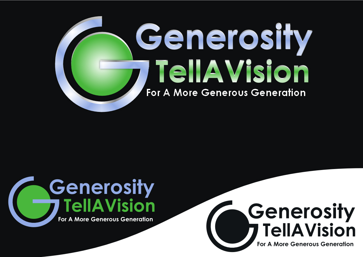 Logo Design by Heri Susanto - Entry No. 19 in the Logo Design Contest Artistic Logo Design for Generosity TellAVision.