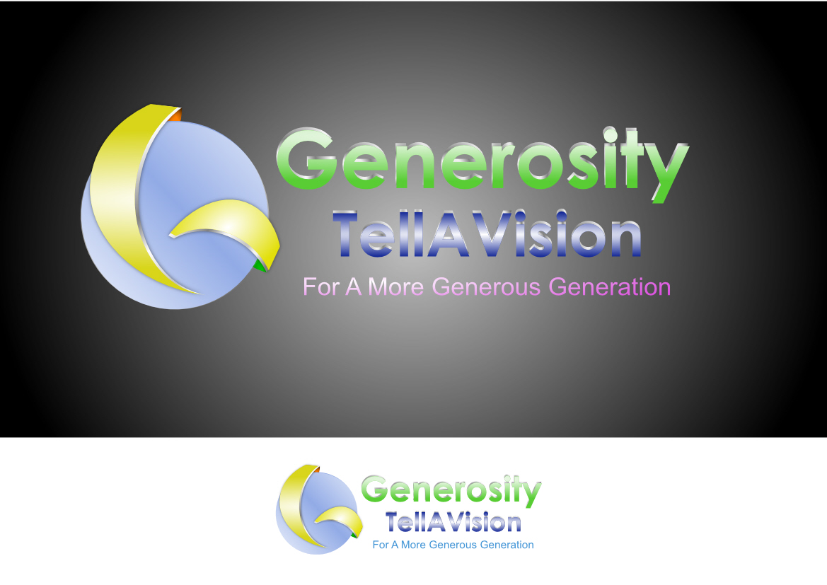 Logo Design by Heri Susanto - Entry No. 20 in the Logo Design Contest Artistic Logo Design for Generosity TellAVision.