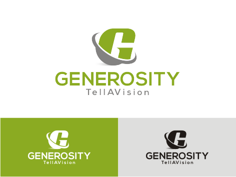 Logo Design by key - Entry No. 23 in the Logo Design Contest Artistic Logo Design for Generosity TellAVision.