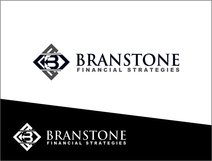 Logo Design by Agus Martoyo - Entry No. 320 in the Logo Design Contest Inspiring Logo Design for Branstone Financial Strategies.
