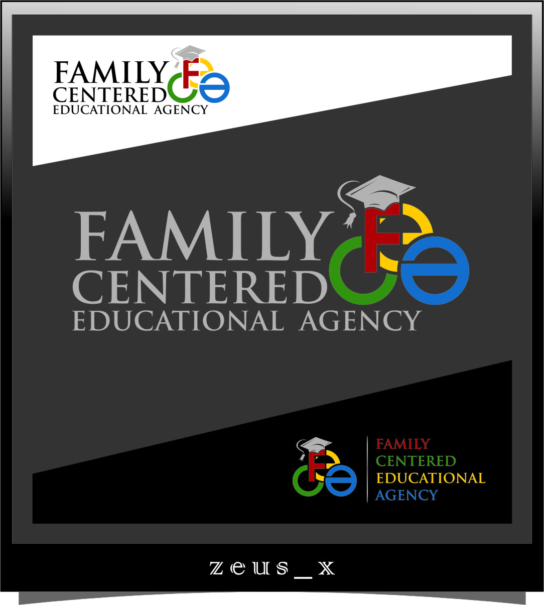 Logo Design by Ngepet_art - Entry No. 3 in the Logo Design Contest Captivating Logo Design for Family Centered Educational Agency.