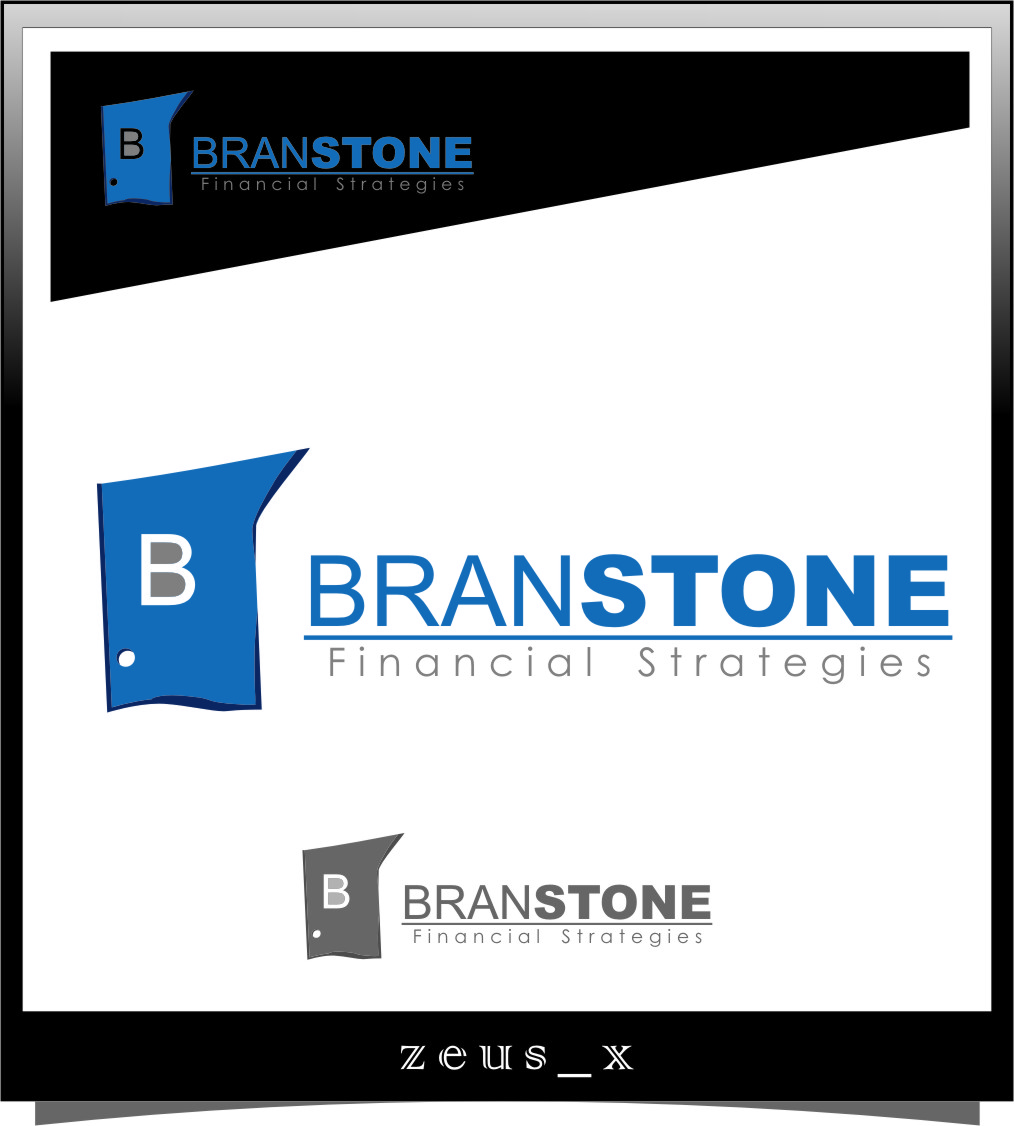 Logo Design by Ngepet_art - Entry No. 327 in the Logo Design Contest Inspiring Logo Design for Branstone Financial Strategies.